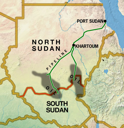 Sudán Norte y Sudán Sur